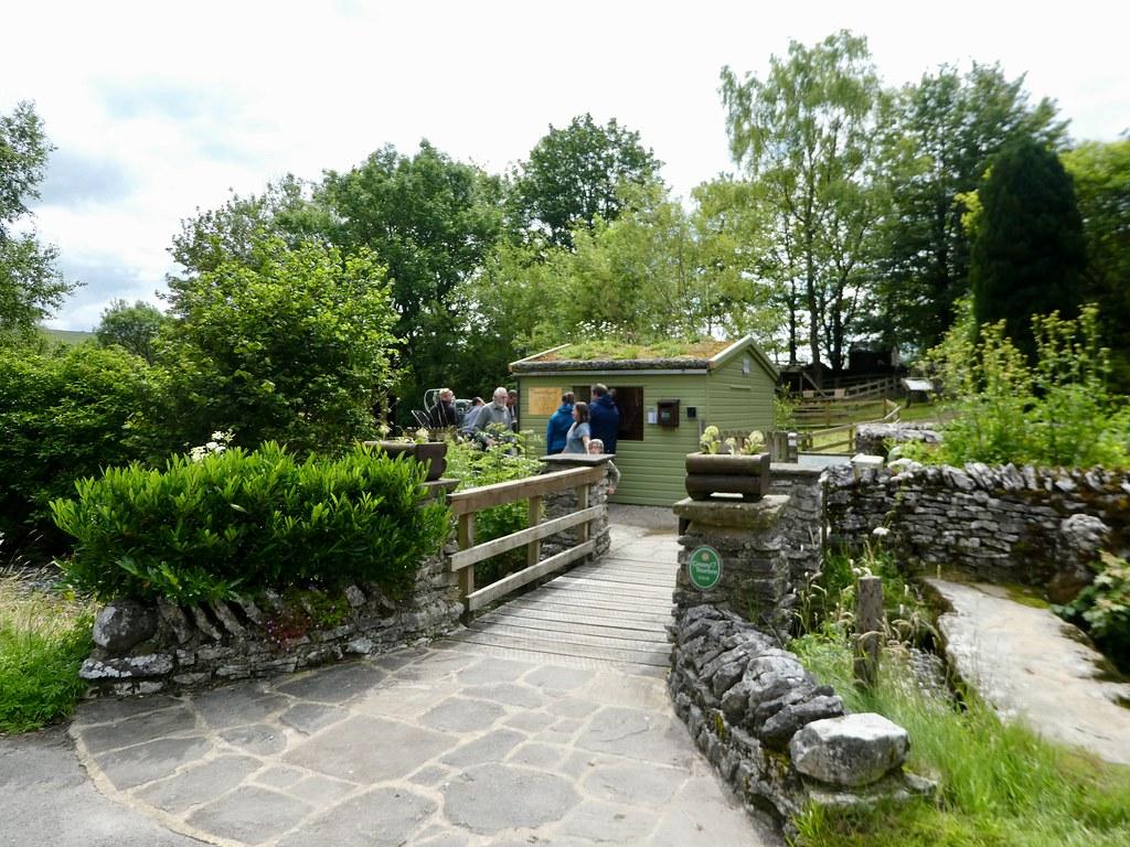 Kilnsey Trout Farm entrance