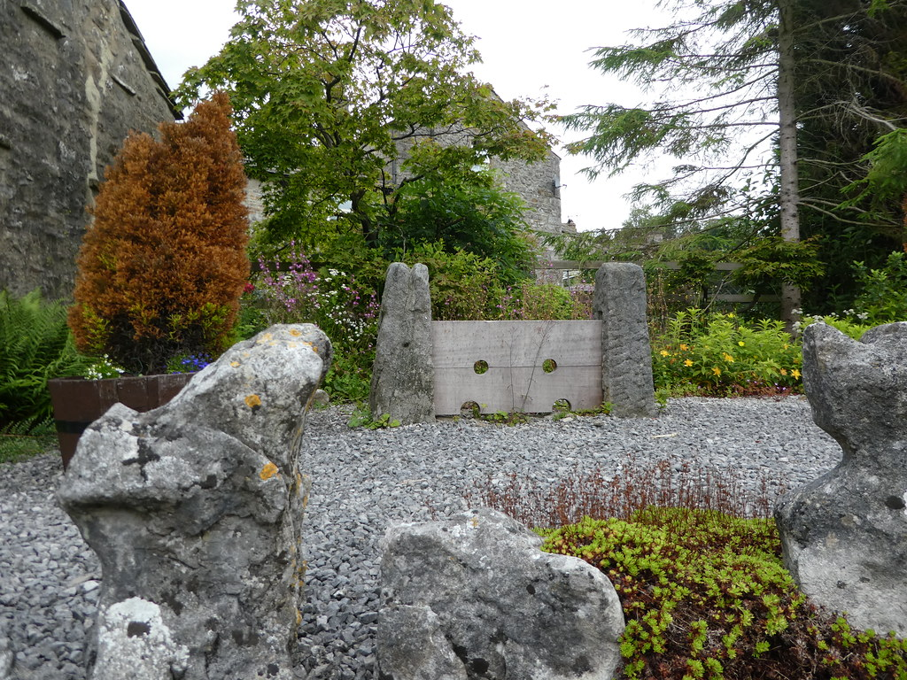 Stocks in Kettlewell memorial garden