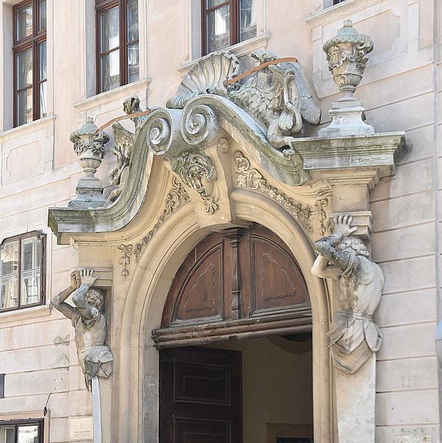 Carved Door head, Bratislava, Slovakia ( Explored 16/07/20)