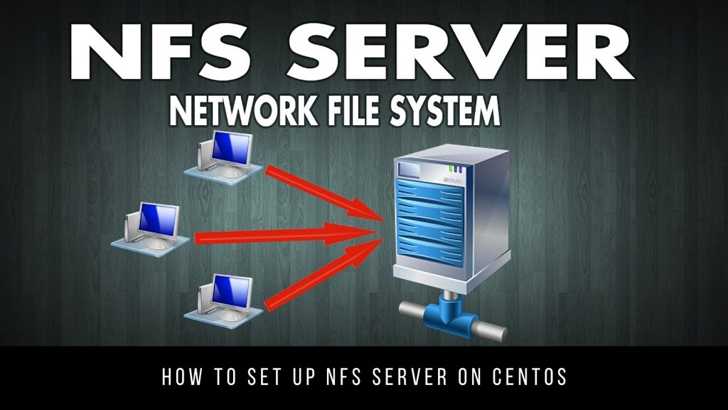 How to set up NFS Server on CentOS