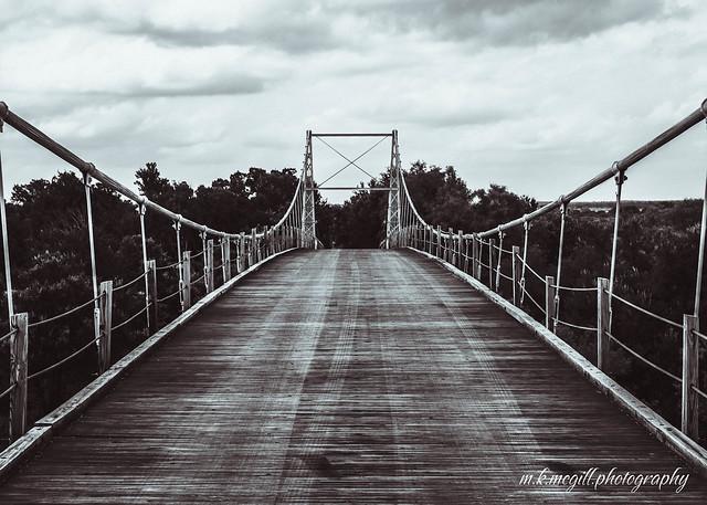 regency bridge (b&w)