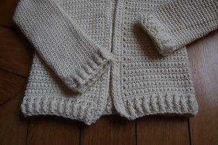Single Crochet Baby Sweater | by KnitSpirit