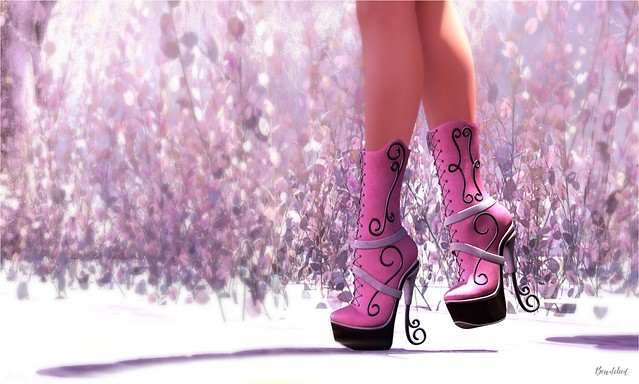 It's all about shoes :D