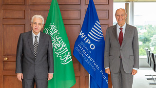Saudi Commerce Minister Meets WIPO Director General | by WIPO | OMPI