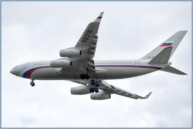 Ilyushin Il-96-300 Rossiya Special Flight Squadron RA-96018