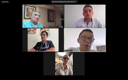 GRUPO INTERPARLAMENTARIO DE AMISTAD CON LA ASAMBLEA POPULAR NACIONAL DE CHINA. VIRTUAL. QUITO, 16 DE JULIO DEL 2020