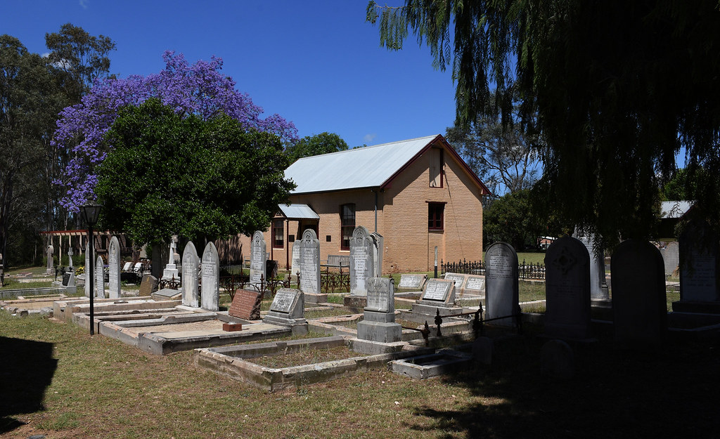 St Paul's Anglican Church Cemetery, Cobbitty, 1842, Sydney, NSW.