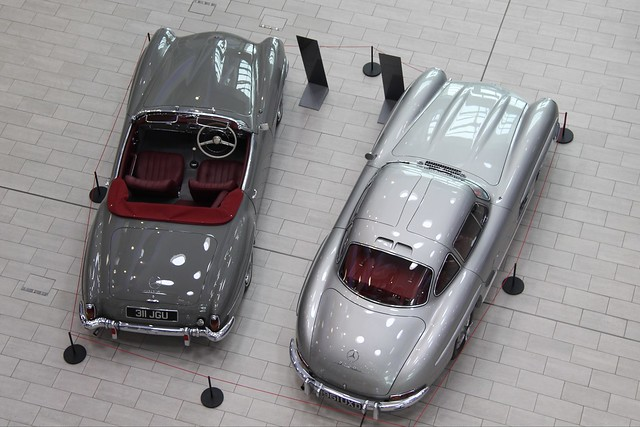 IMG_7693 1960 Mercedes-Benz 190SL and 1955 300SL