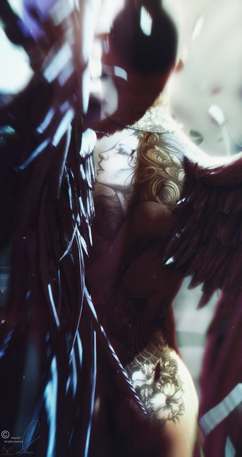 ✞ Where the Angels Die ✞ ⒸNemmesea« Attribution