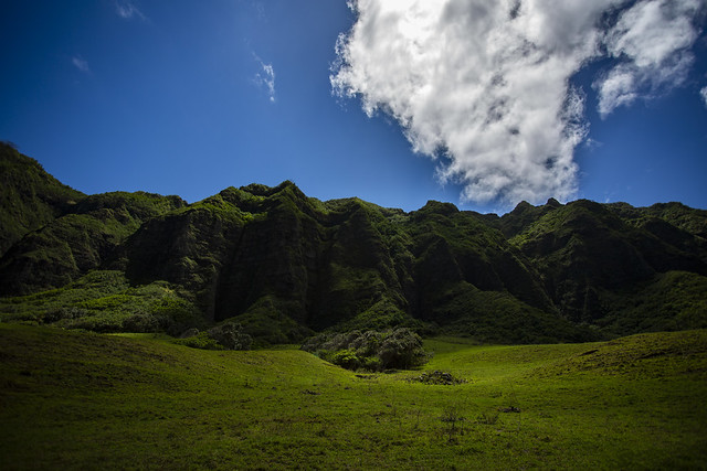 The Magnificent Scenery of Oahu, Hawaii