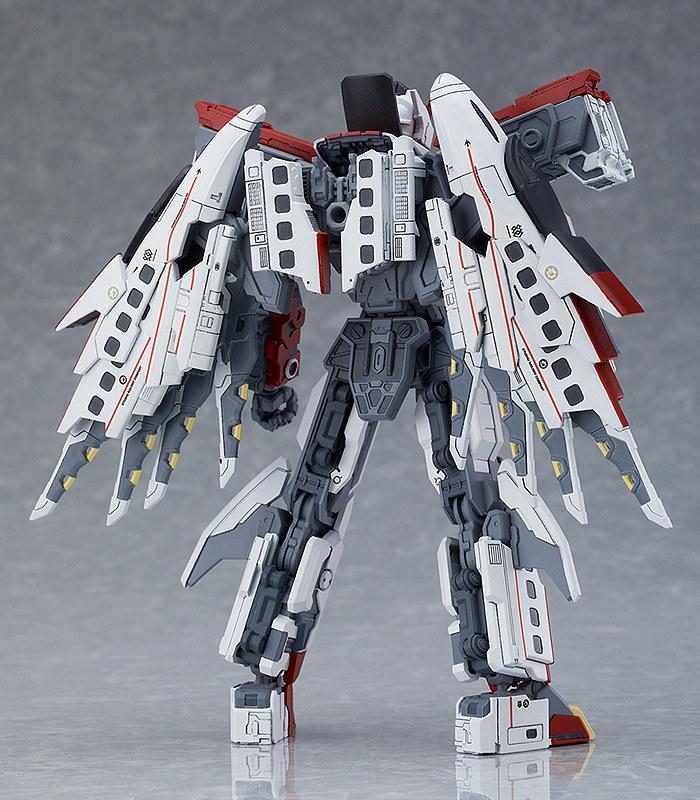 再現華麗飛行戰鬥姿態!MODEROID《新幹線變形機器人》Shinkalion 800燕子號(シンカリオン 800つばめ)組裝模型