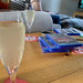 Drinking home made fizzy while playing new PS4