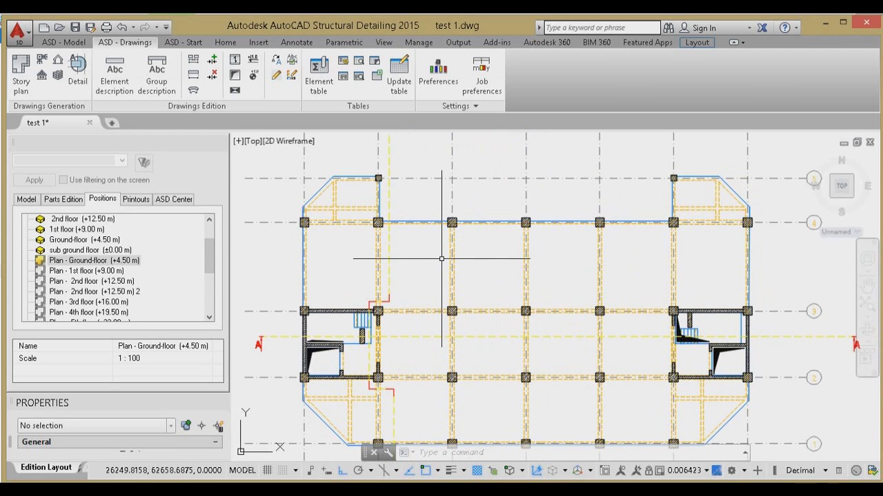 Working with Autodesk AutoCAD Structural Detailing 2015 SP1 full
