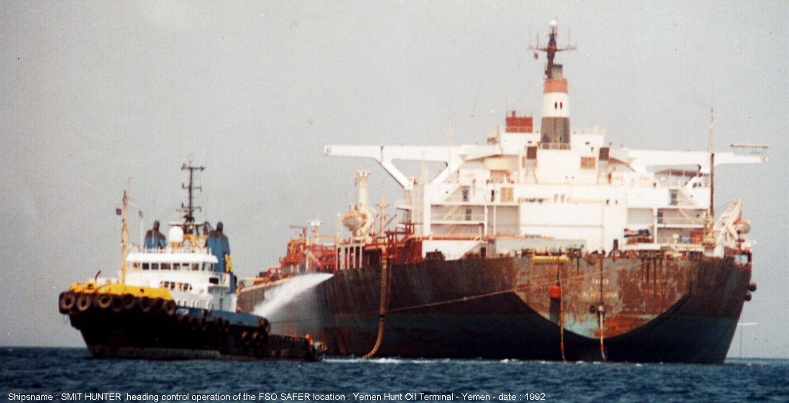 smit hunter + safer offshore yemen 1992.