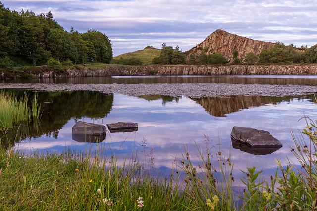 Cawfields Reservoir