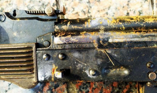Numéro de série du fusil