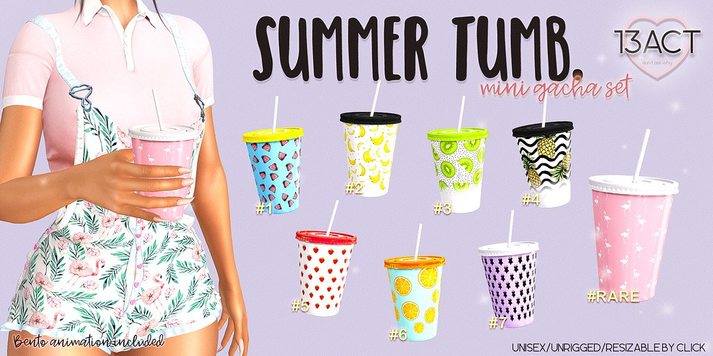 !13ACT – summer tumb