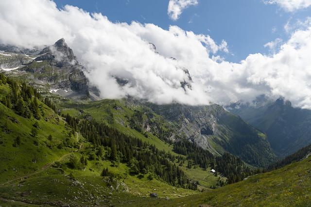 Arête de Gryon  - Tour de l'argentine - Suisse