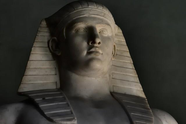 Antinous deified as Osiris.
