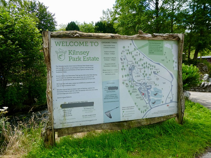 Kilnsey Park Estate Map
