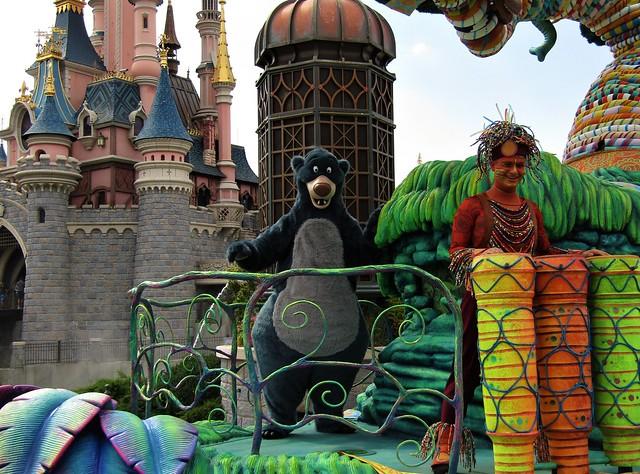 Disney Parade at Disneyland Paris