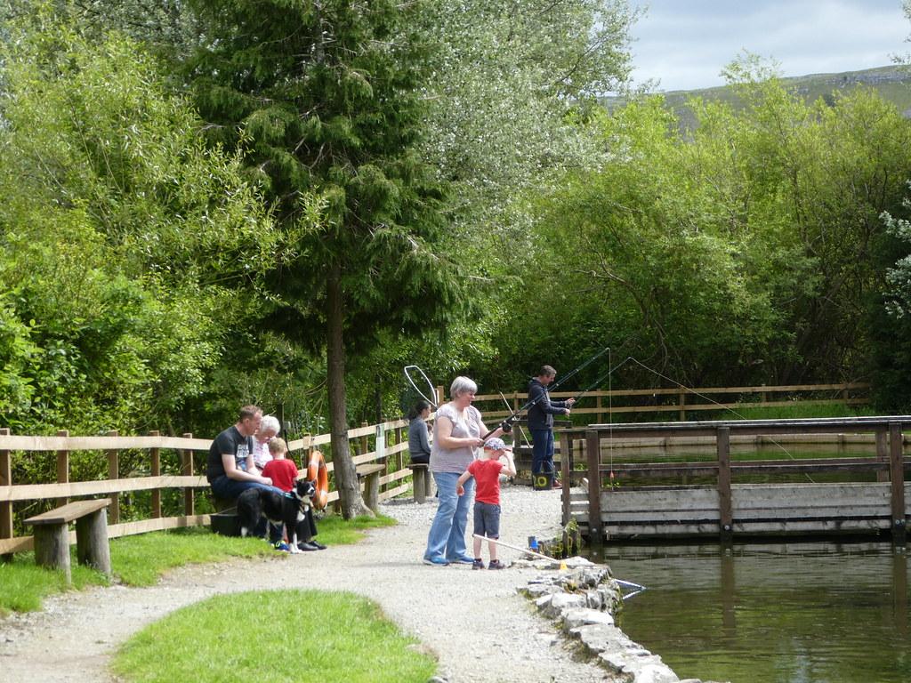 Family area, Kilnsey Park Estate