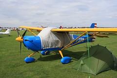G-FSBW Aeropro Eurofox [BMAA HB 678] Sywell 300819
