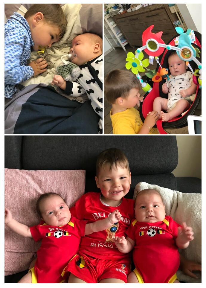 Een gezin van 5, liefde te veel en tijd te kort! – collage 1