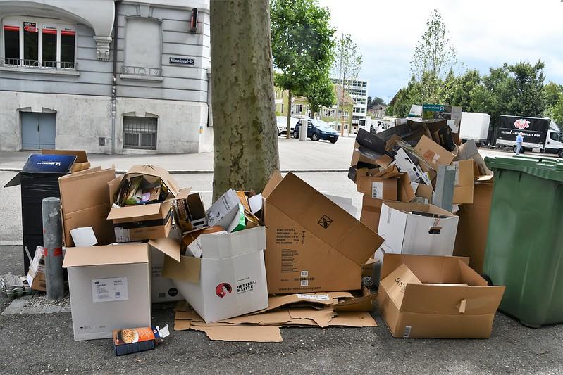 Cardboard Collection Vorstadt 16.07.2020