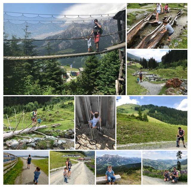 Oostenrijk, kinderrijk! 7 leuke dingen te doen met kids in Saalbach-Hinterglemm - collage 2