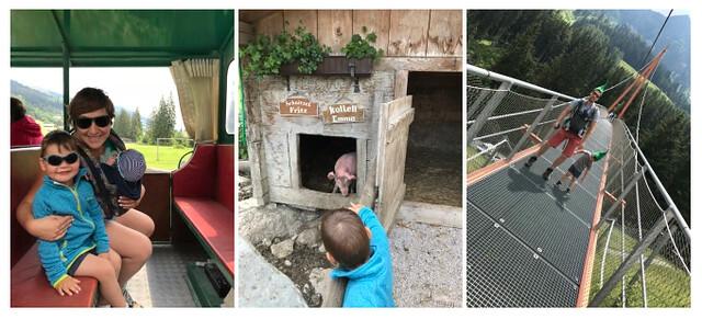 Oostenrijk, kinderrijk! 7 leuke dingen te doen met kids in Saalbach-Hinterglemm - collage 4