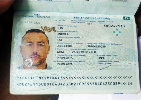 Passeport du soldat estonien