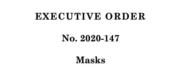 New Executive Order Requiring Mask Use in All Indoor and Crowded Outdoor Spaces