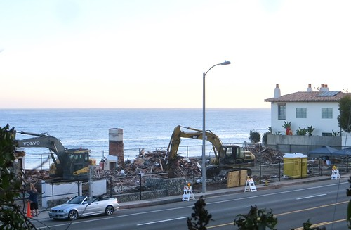 three vintage beach cottages are gone