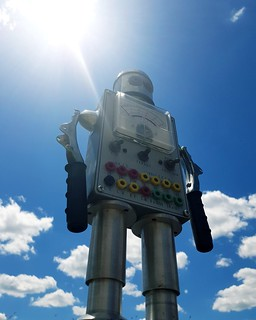 And the eigth day, god created robot...
