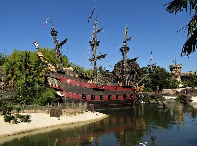 Pirate Galleon at Disneyland Paris