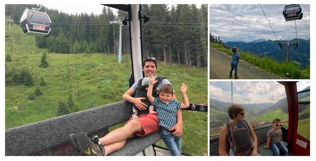 Oostenrijk, kinderrijk! 7 leuke dingen te doen met kids in Saalbach-Hinterglemm - collage 1