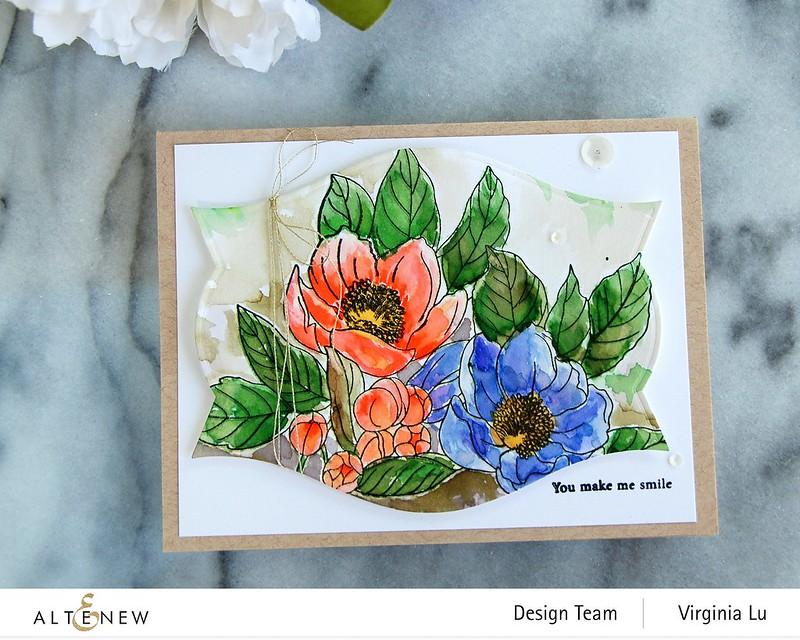 Altenew-PAF Paeonia Japonica-Nesting LabelsDie Set#3