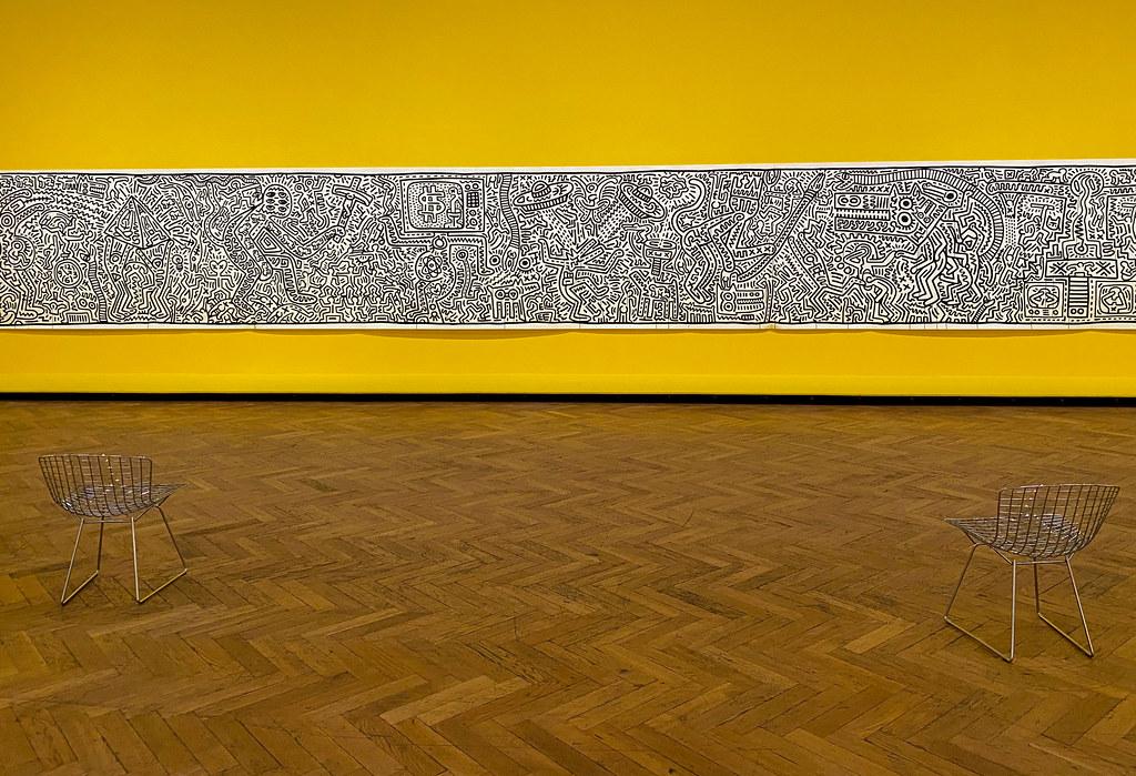 'Matrix' by Keith Haring
