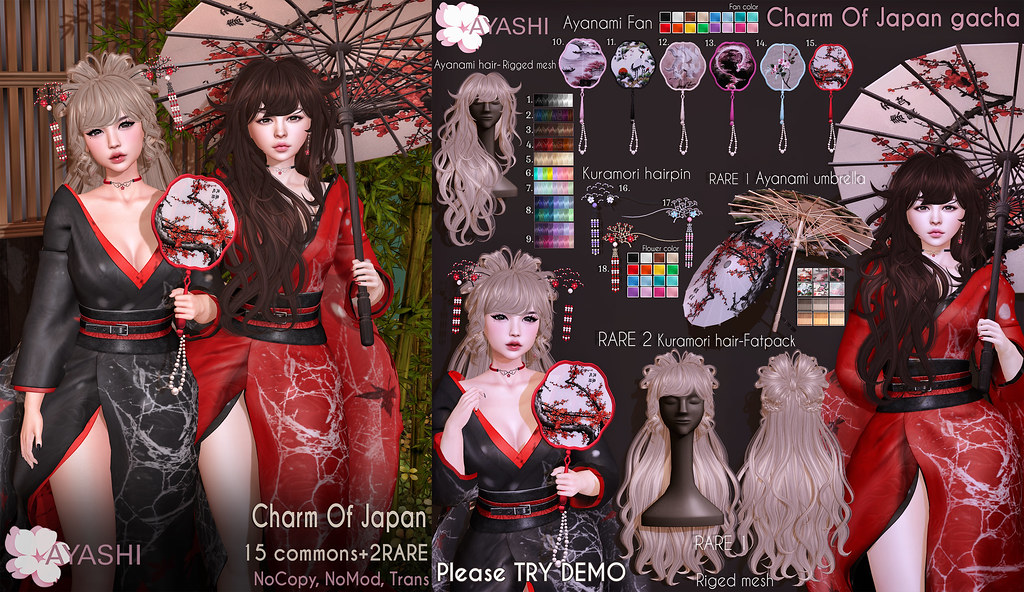 [^.^Ayashi^.^] Charm of Japan Gacha special for The Epiphany