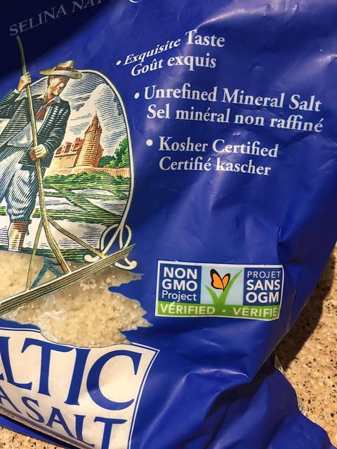 """Kosher Certified"" salt"