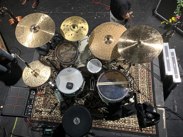Geared Up: The National Parks Drummer Cam Brannelly on His DW Design Series Drum Kit
