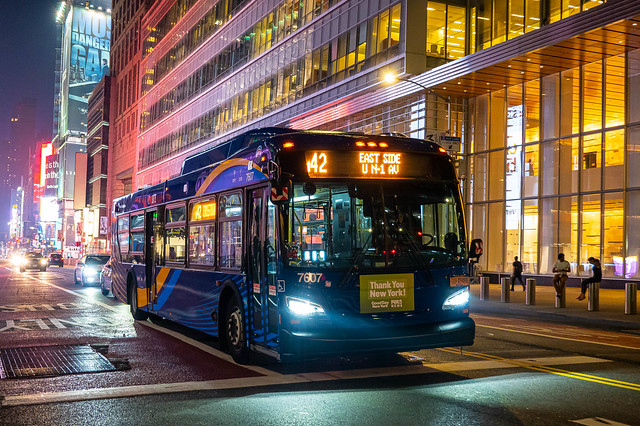 MTA New York City Bus 2019 New Flyer XD40