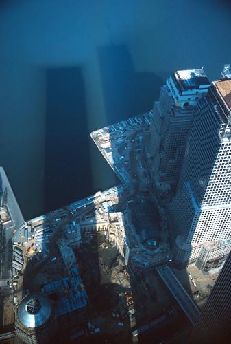 World Trade Center Shadows - 1985