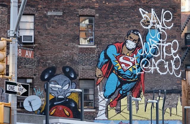 193/366 - Superman Fights COVID-19