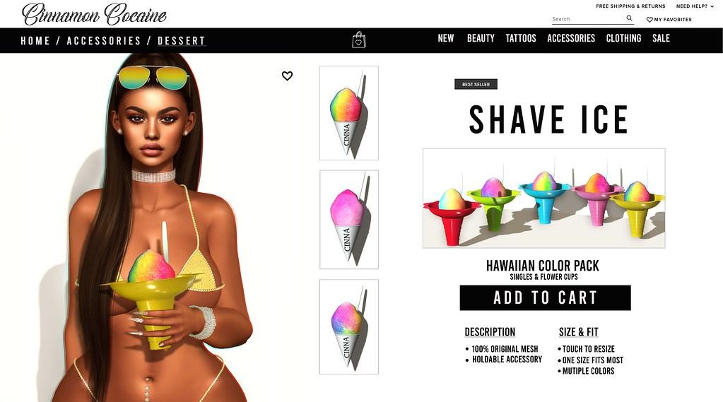 Hawaiian Shave Ice #AD