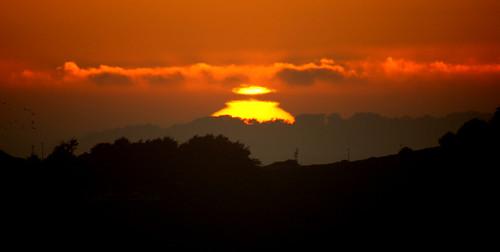 sunset sun pointbonita presidioofsanfrancisco goldengatenationalrecreationarea ggnra shinealight