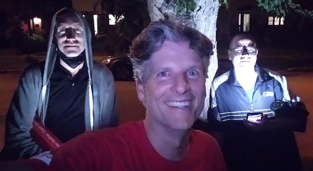 Stu Stone, Cam Gordon and Me
