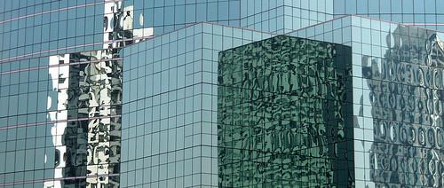 Bangkok highrise reflection (Thailand)
