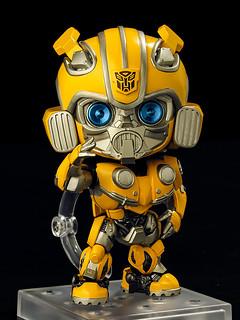80年代金龜車的可愛復古造型!黏土人《大黃蜂》大黃蜂(ねんどろいど バンブルビー)可動人偶